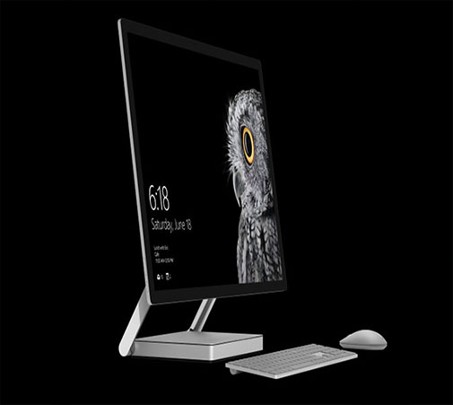 Surface Studio معرفی شد؛ اولین کامپیوتر بدون کیس مایکروسافت