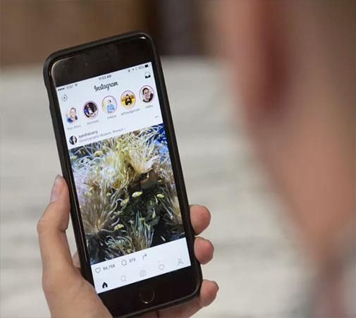 اینستاگرام اسکرین شات ها را به کاربران گزارش می کند