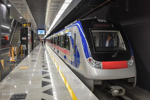 تشخصی میزان شلوغی مترو!